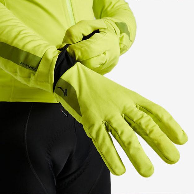 스페셜라이즈드 2021 HyprViz 프라임 시리즈 방수 방한 방풍 형광 장갑 (남성용)