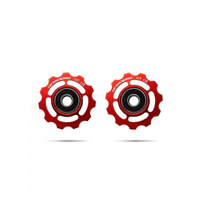 윅스인터내셔널 세라믹스피드 풀리휠 시마노 11S 레드
