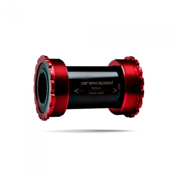 윅스인터내셔널 세라믹스피드 BB(비비) T47/86mm 스램 GXP 레드