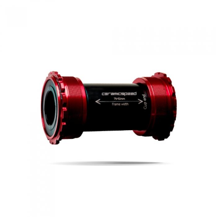 윅스인터내셔널 세라믹스피드 BB(비비) T45 스램 DUB 로드 레드