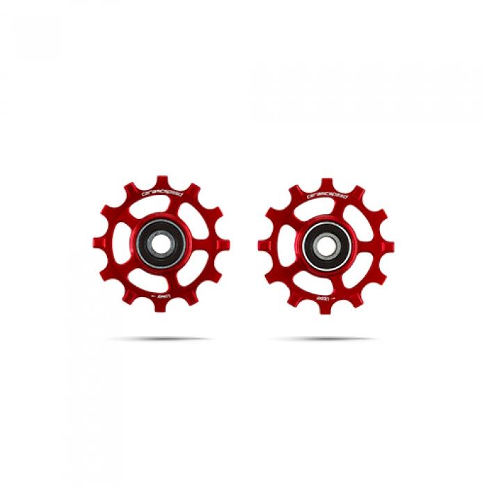 윅스인터내셔널 세라믹스피드 풀리휠 스램 12s AXS 레드/포스 레드